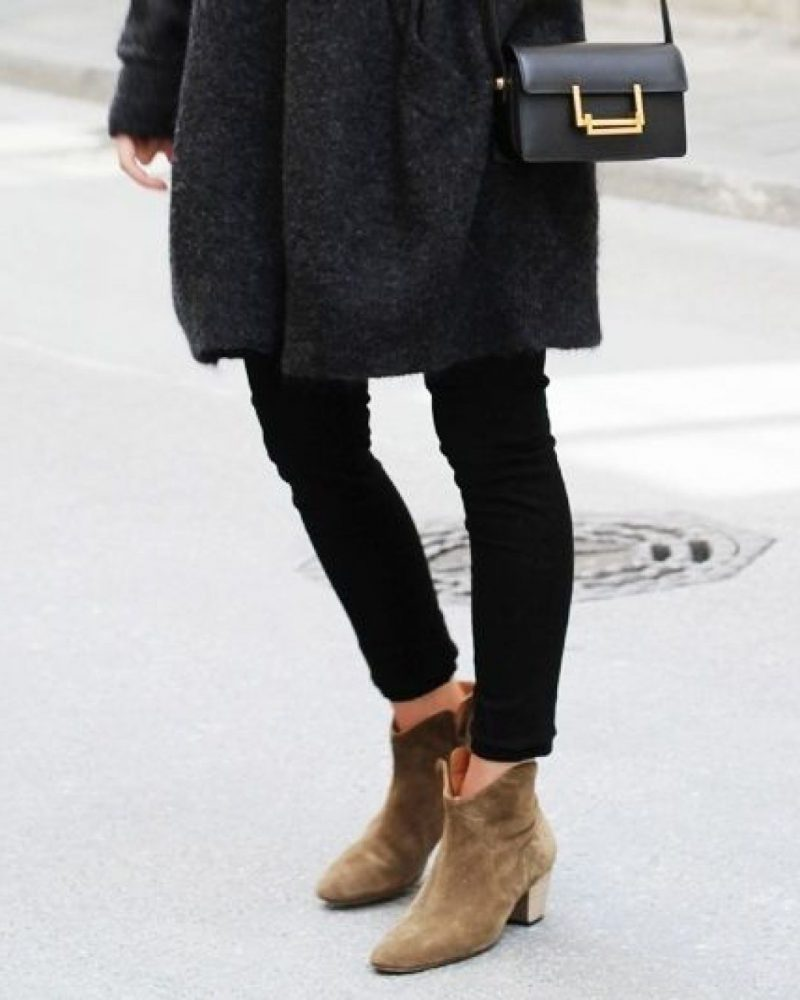 How To Wear Ankle Boots For Women Street Style (19)