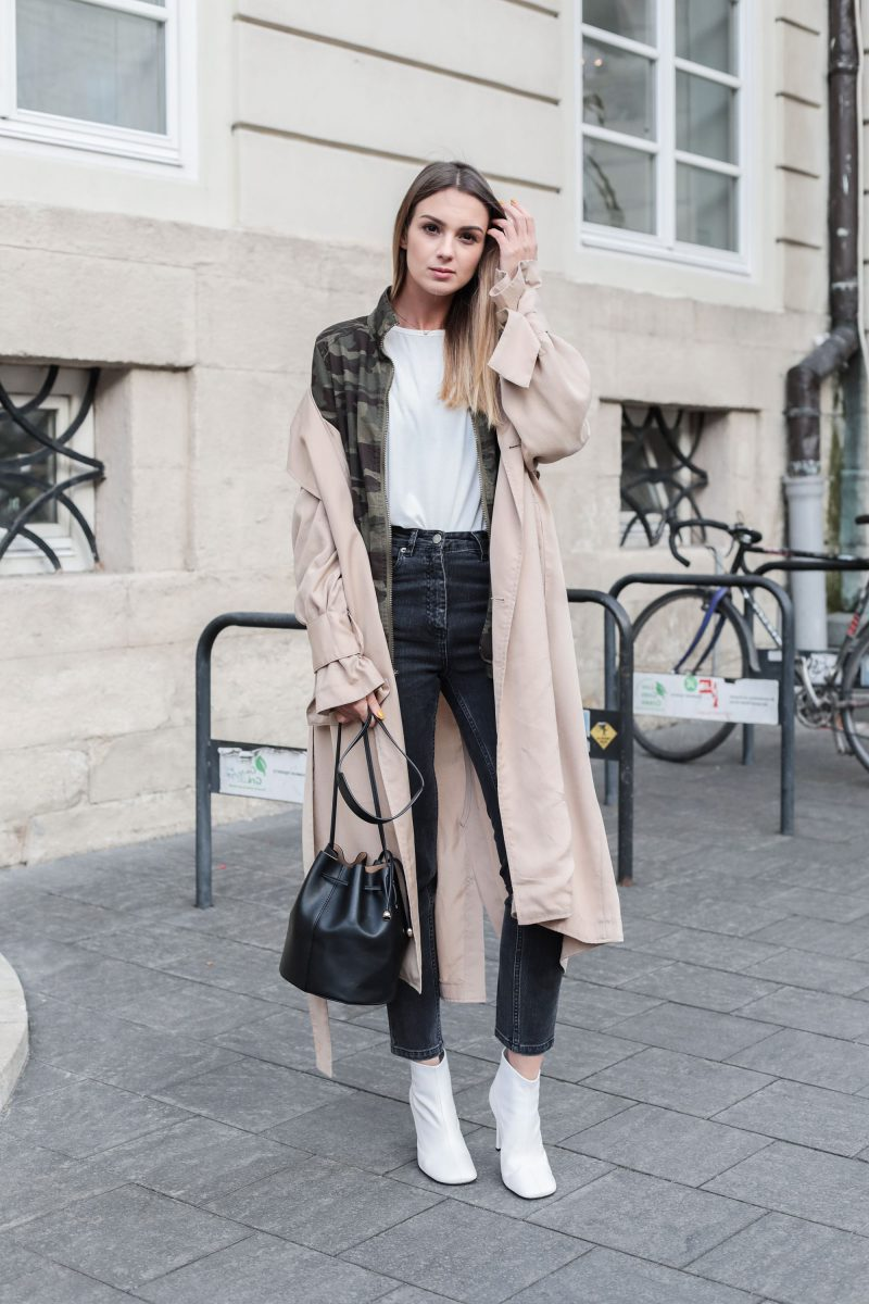 How To Wear Ankle Boots For Women Street Style (4)