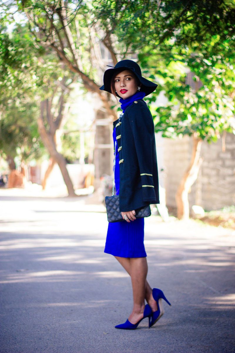 How To Wear Blue Dresses Simple Tricks And Style Tips (4)