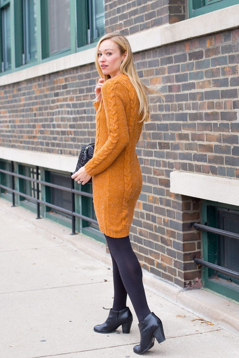 How To Wear Sweater Dresses On The Streets Best Outfit Ideas (1)