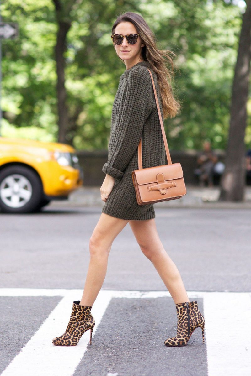 How To Wear Sweater Dresses On The Streets Best Outfit Ideas (15)