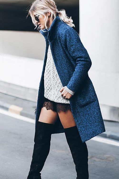 How To Wear Sweater Dresses On The Streets Best Outfit Ideas (18)