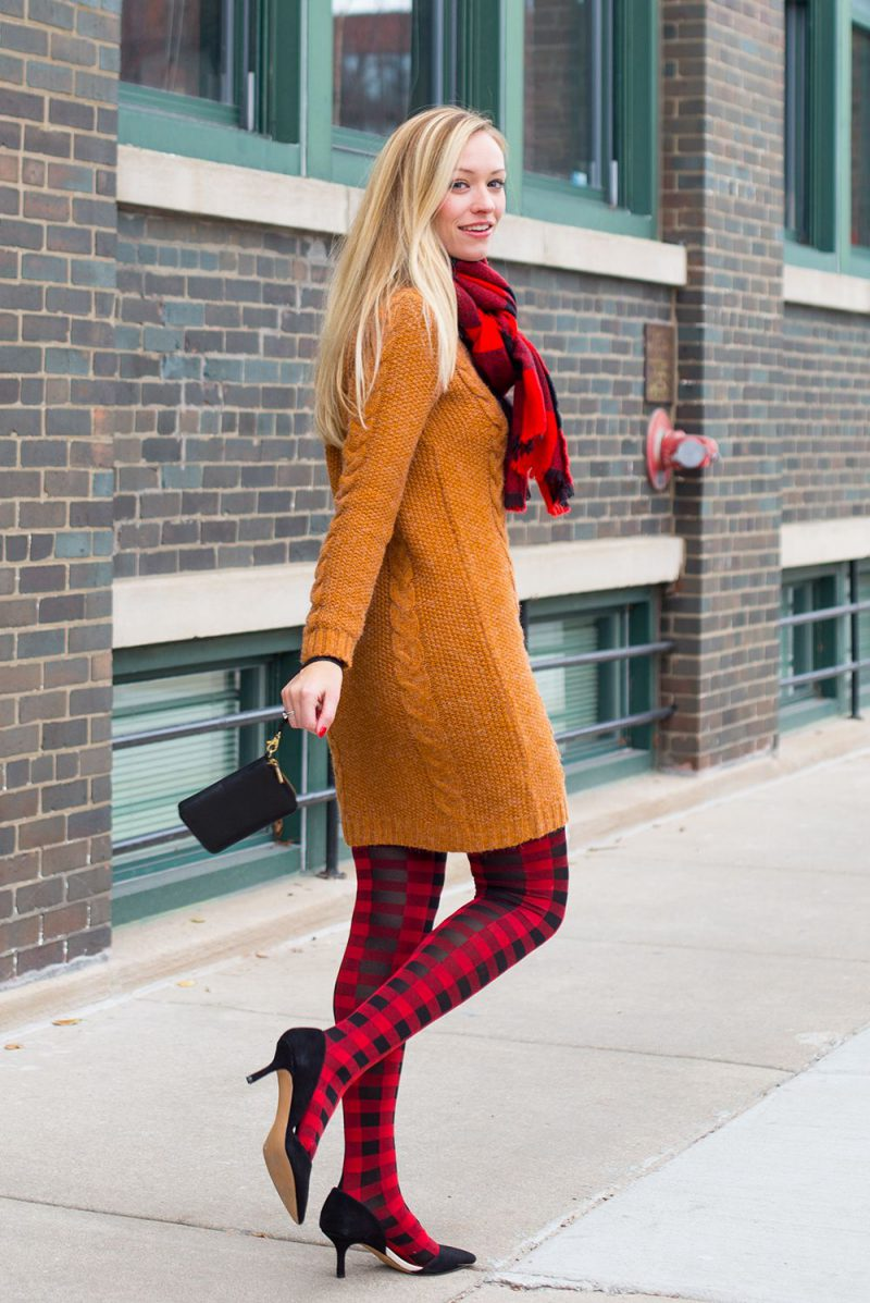 How To Wear Sweater Dresses On The Streets Best Outfit Ideas (2)