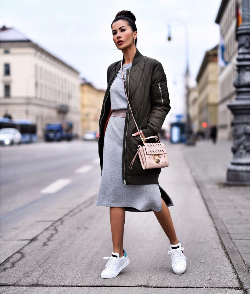 How To Wear Sweater Dresses On The Streets Best Outfit Ideas (7)