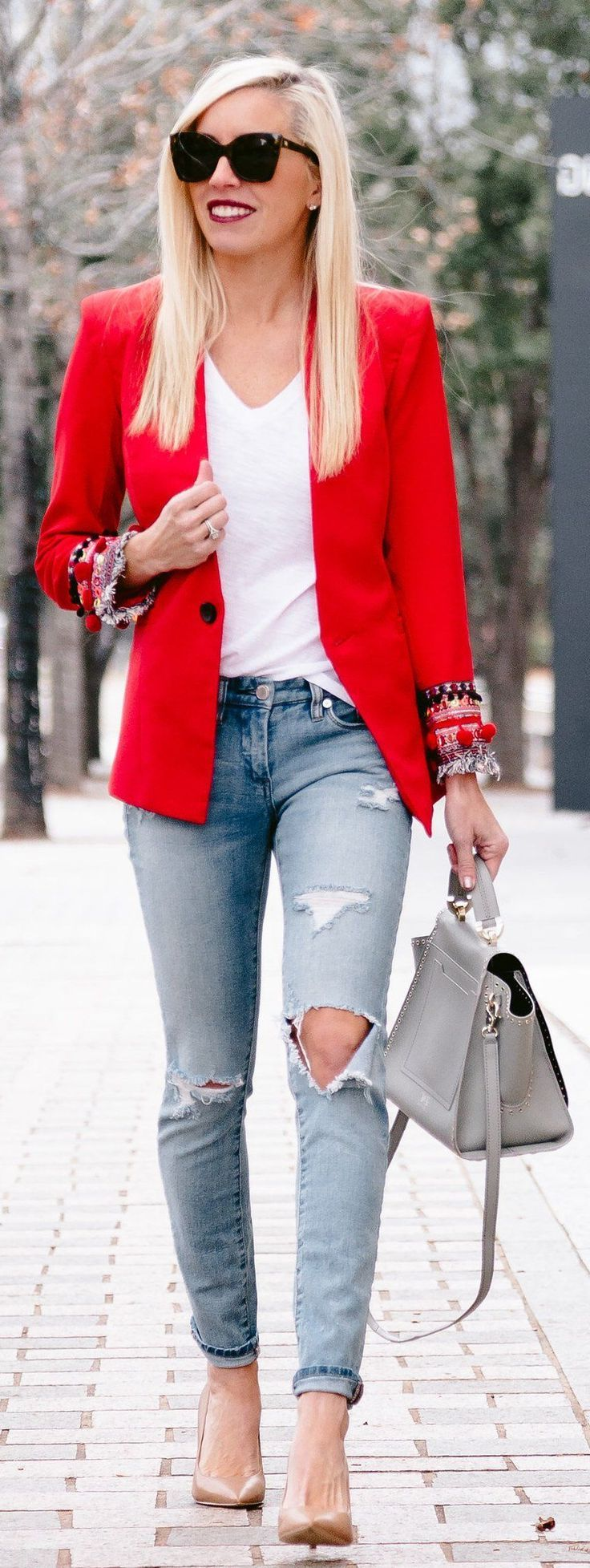 Blazers Outfit Ideas For Women 2019