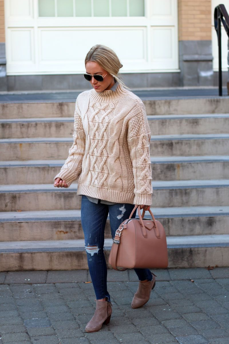 Sweaters For Women Street Style Ideas How To Wear (13)