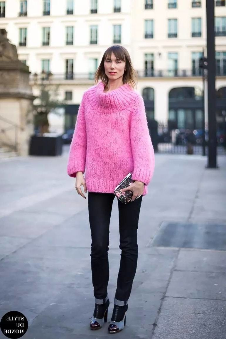 Sweaters For Women Street Style Ideas How To Wear (23)