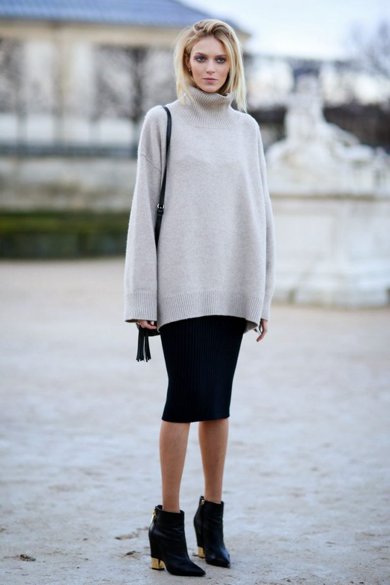 Sweaters For Women Street Style Ideas How To Wear (25)