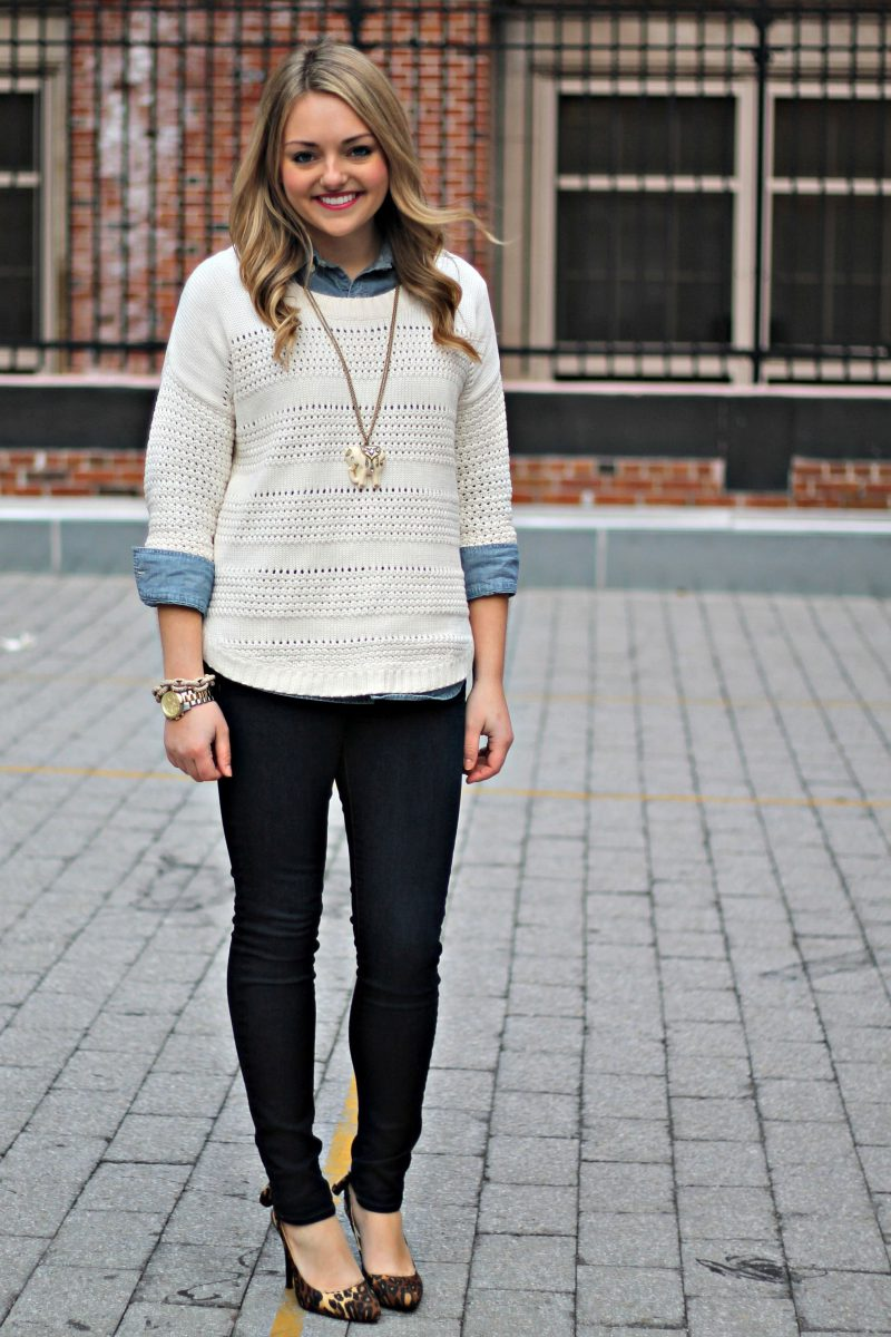 Sweaters For Women Street Style Ideas How To Wear (30)