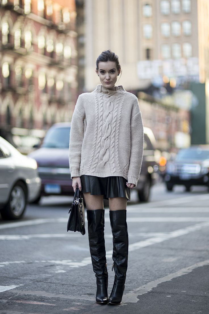 Sweaters For Women Street Style Ideas How To Wear (4)