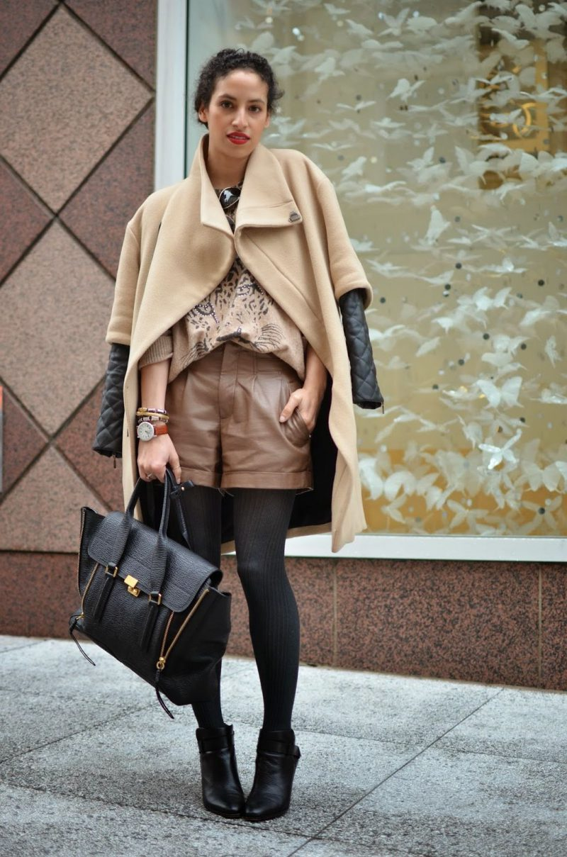 Winter Shorts For Women Best Outfit Ideas (14)