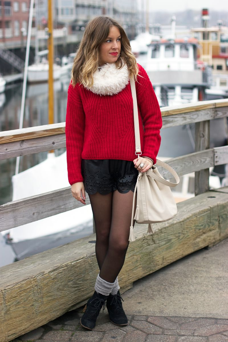 Winter Shorts For Women Best Outfit Ideas (17)