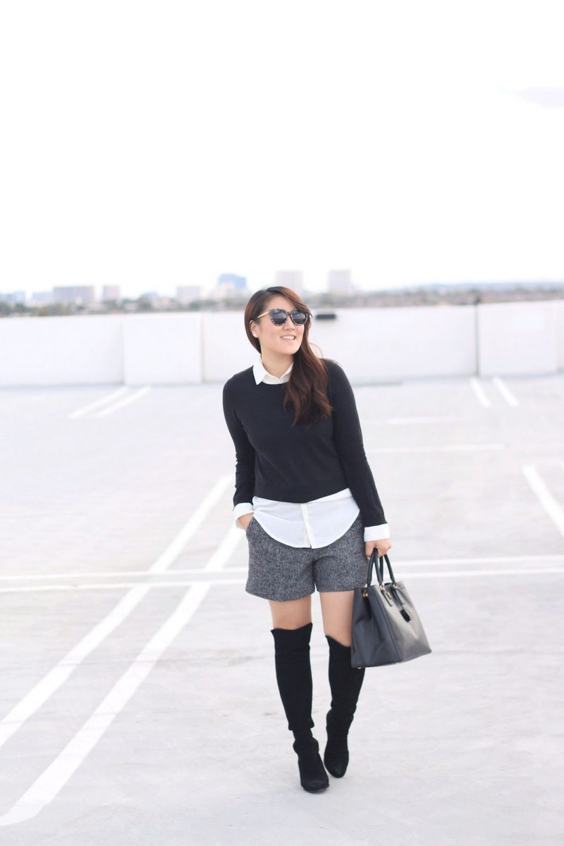 Winter Shorts For Women Best Outfit Ideas (4)