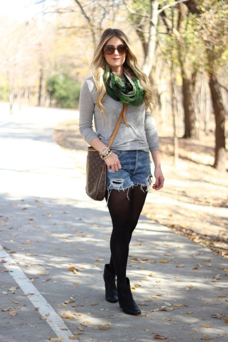 Winter Shorts For Women Best Outfit Ideas (5)