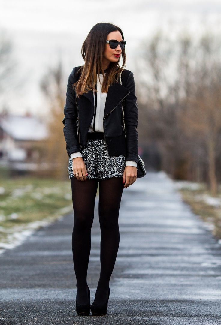 Winter Shorts For Women Best Outfit Ideas (9)