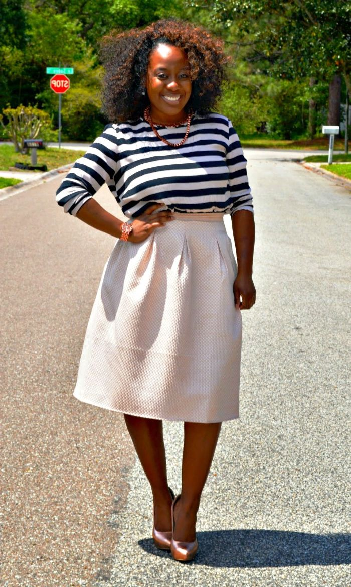 What To Wear With A-Line Skirts 2019