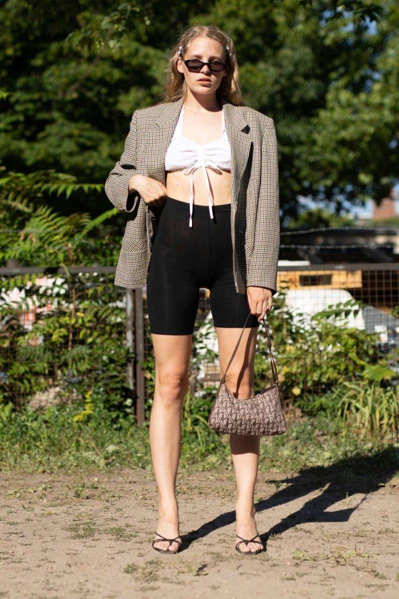 Bike Shorts Trend For Women 2019