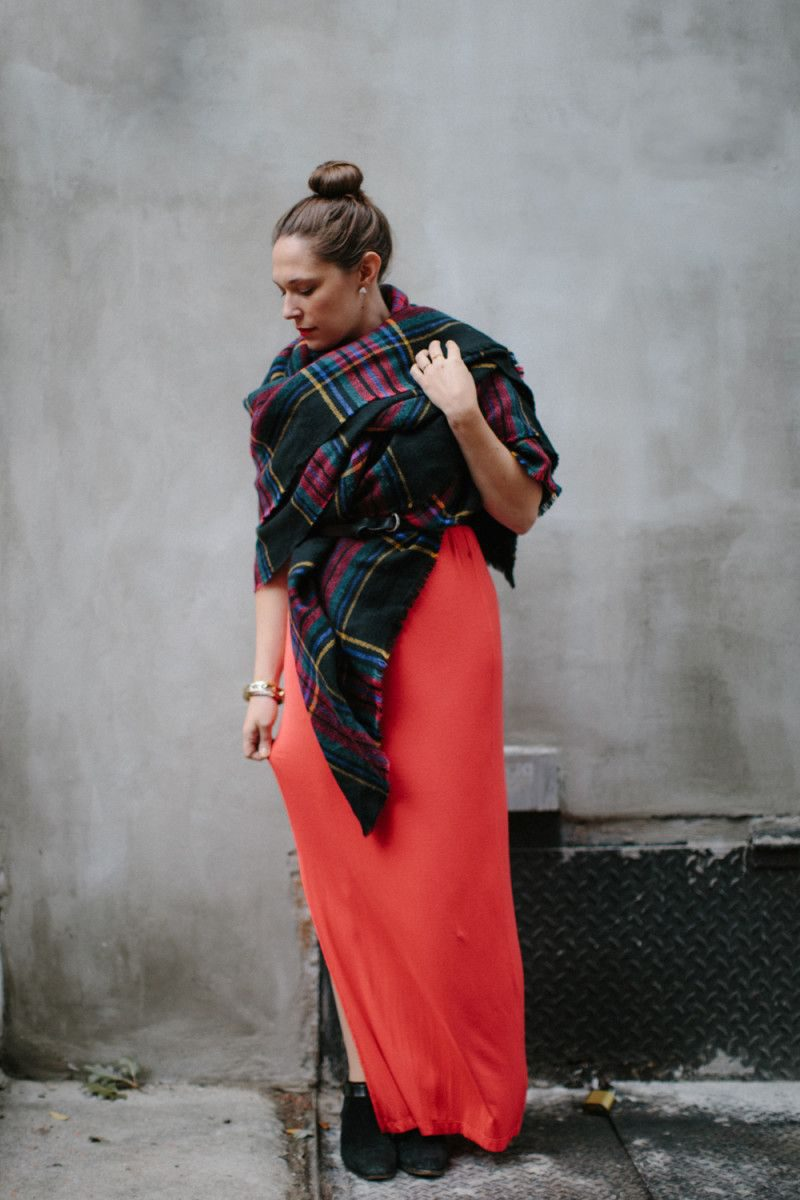 How Should Women Wear Blanket Scarves 2019
