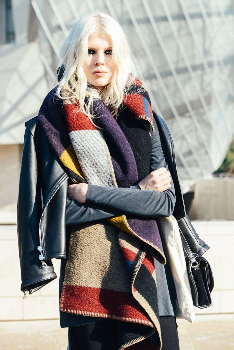 How Should Women Wear Blanket Scarves 2021