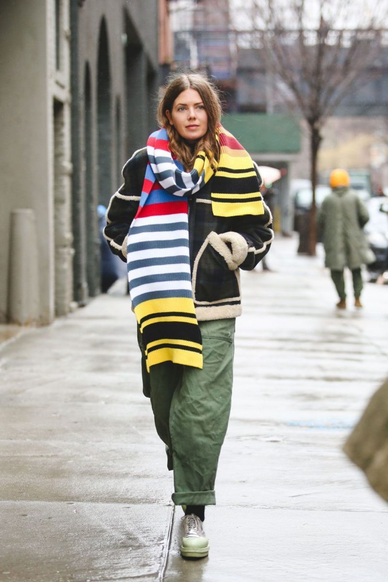 How Should Women Wear Blanket Scarves 2019
