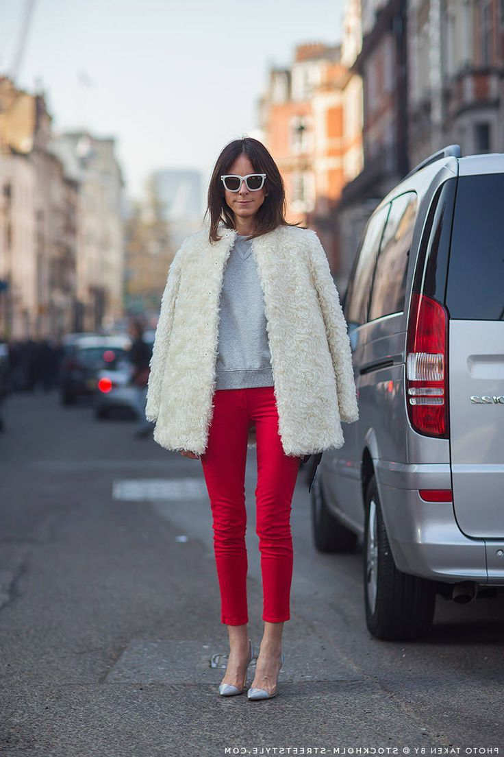 How to Wear Red Pants 2020