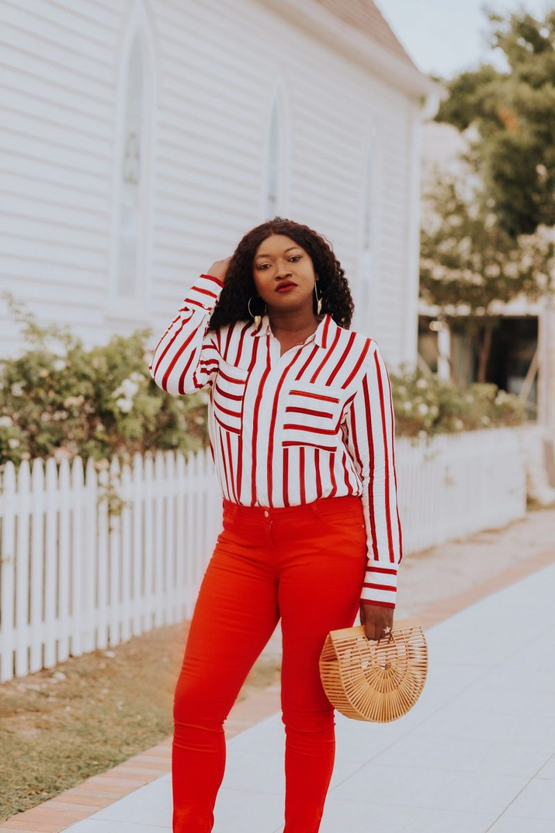 How to Wear Red Pants 2019