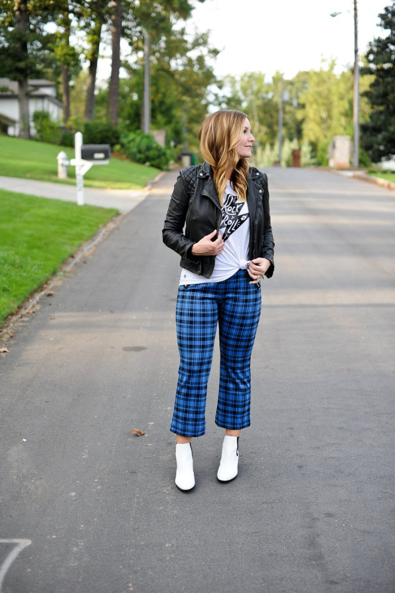 How To Style Plaid Pants For Women 2019