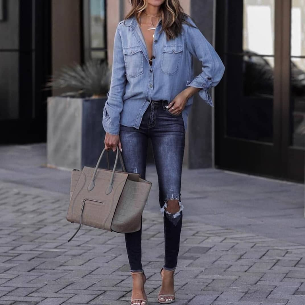 Casual Double Denim OOTD For Summer 2019