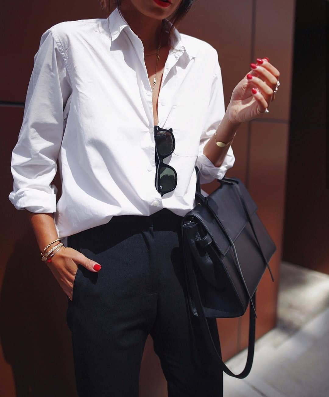 Black White Mannish Outfit Idea For Women To Try This Summer 2019
