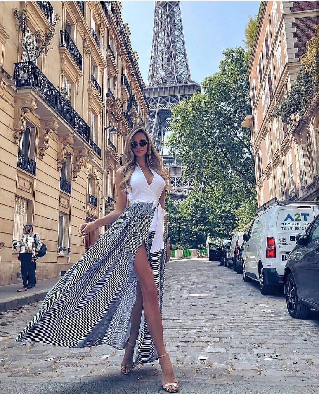Two Piece Dress For Paris Summer 2020