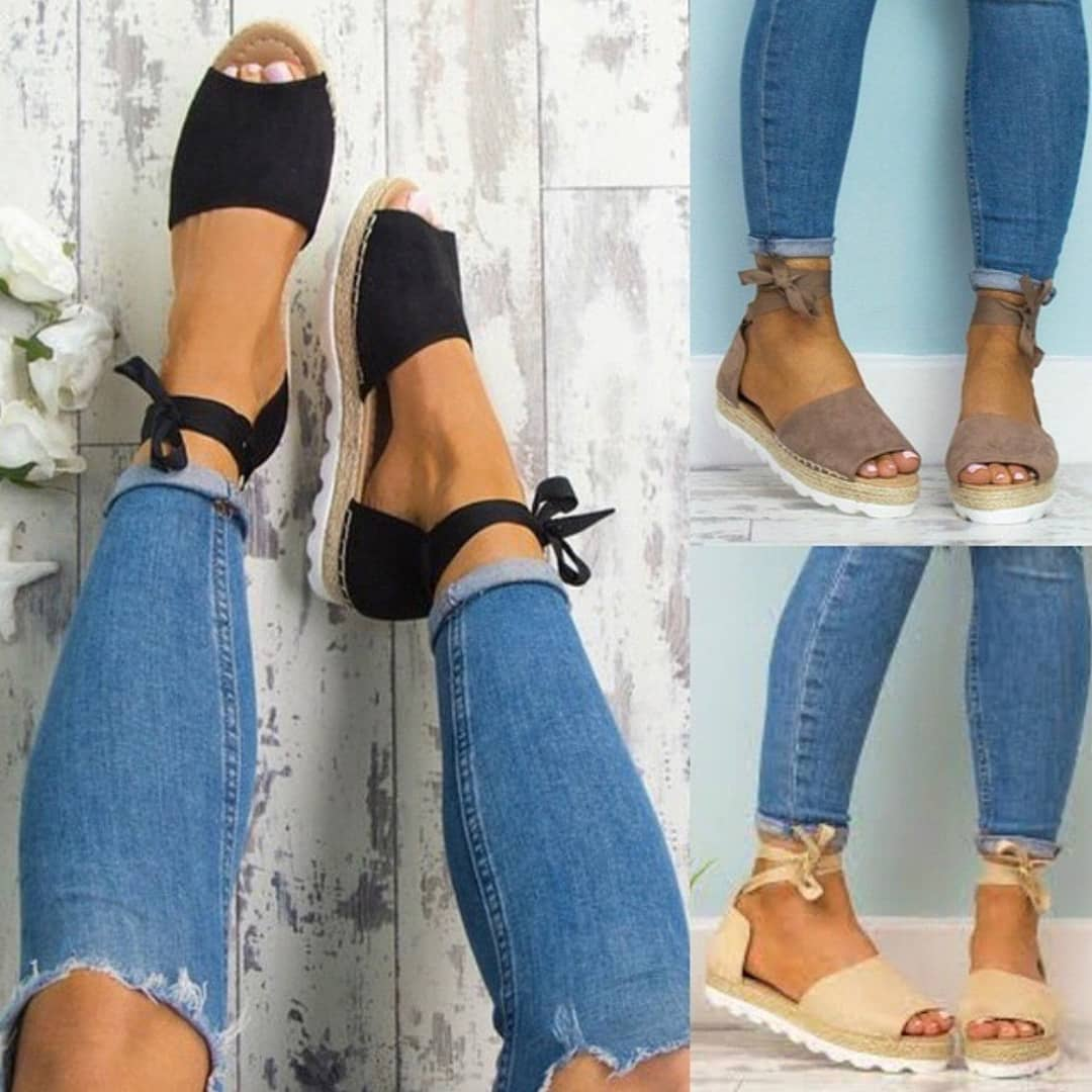 b922f6110 Best Summer Shoes: Espadrille Sandals 2019 ⋆ FashionTrendWalk.com