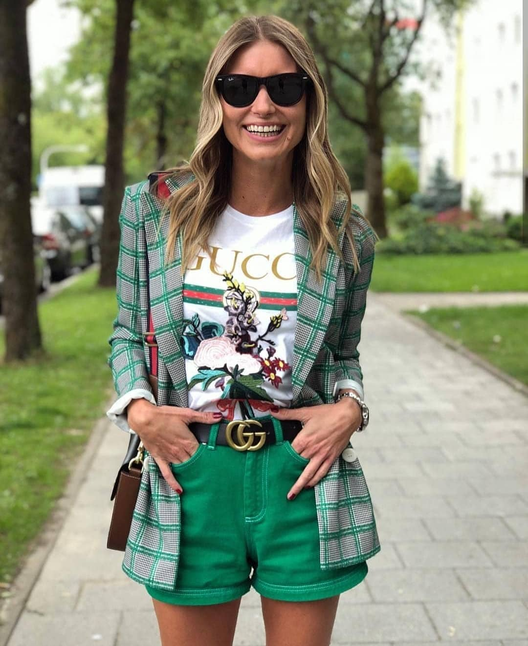 How To Wear Bright Green Shorts This Summer 2019