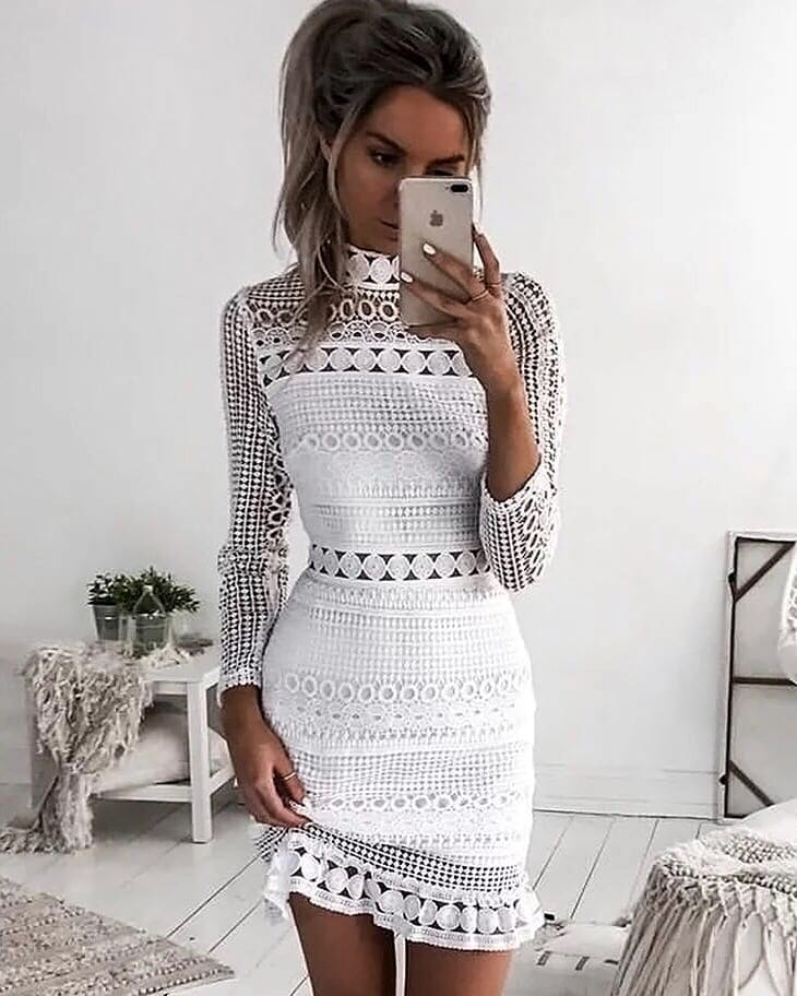 Can I Wear Crochet Dress In White Color This Summer 2019
