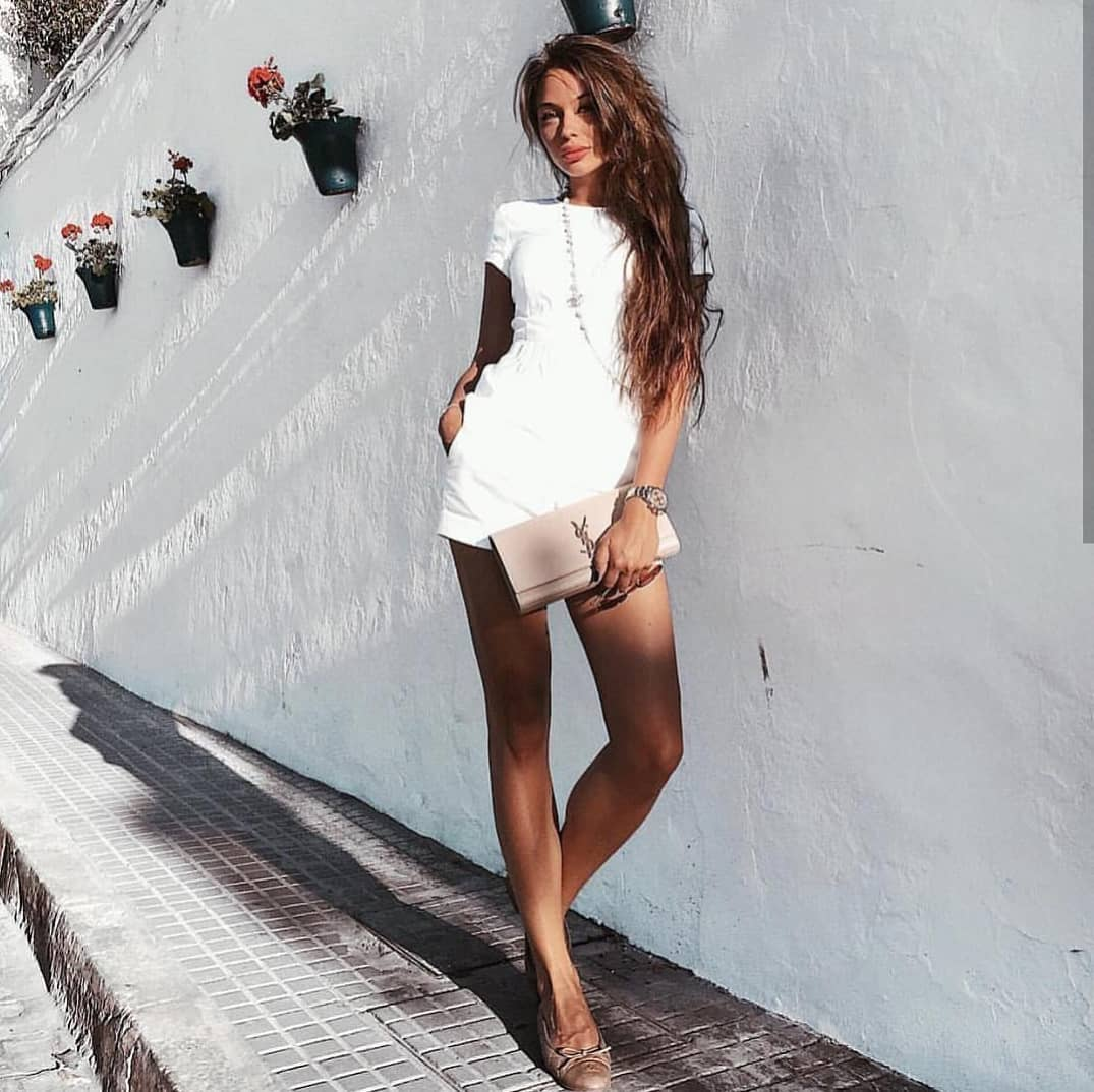 White Romper For Summer Vacation 2020
