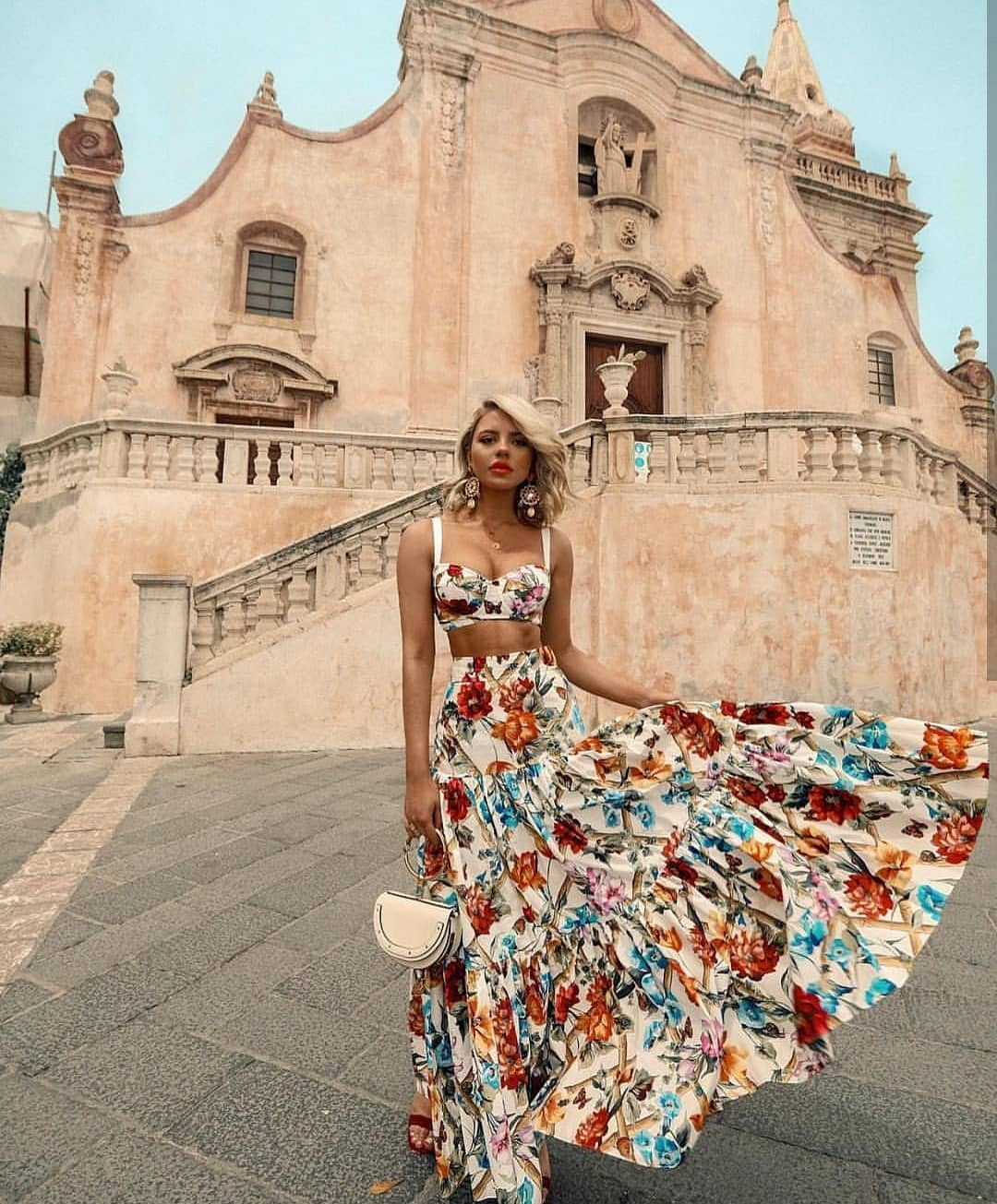 How To Wear Floral Maxi Skirt This Summer 2020