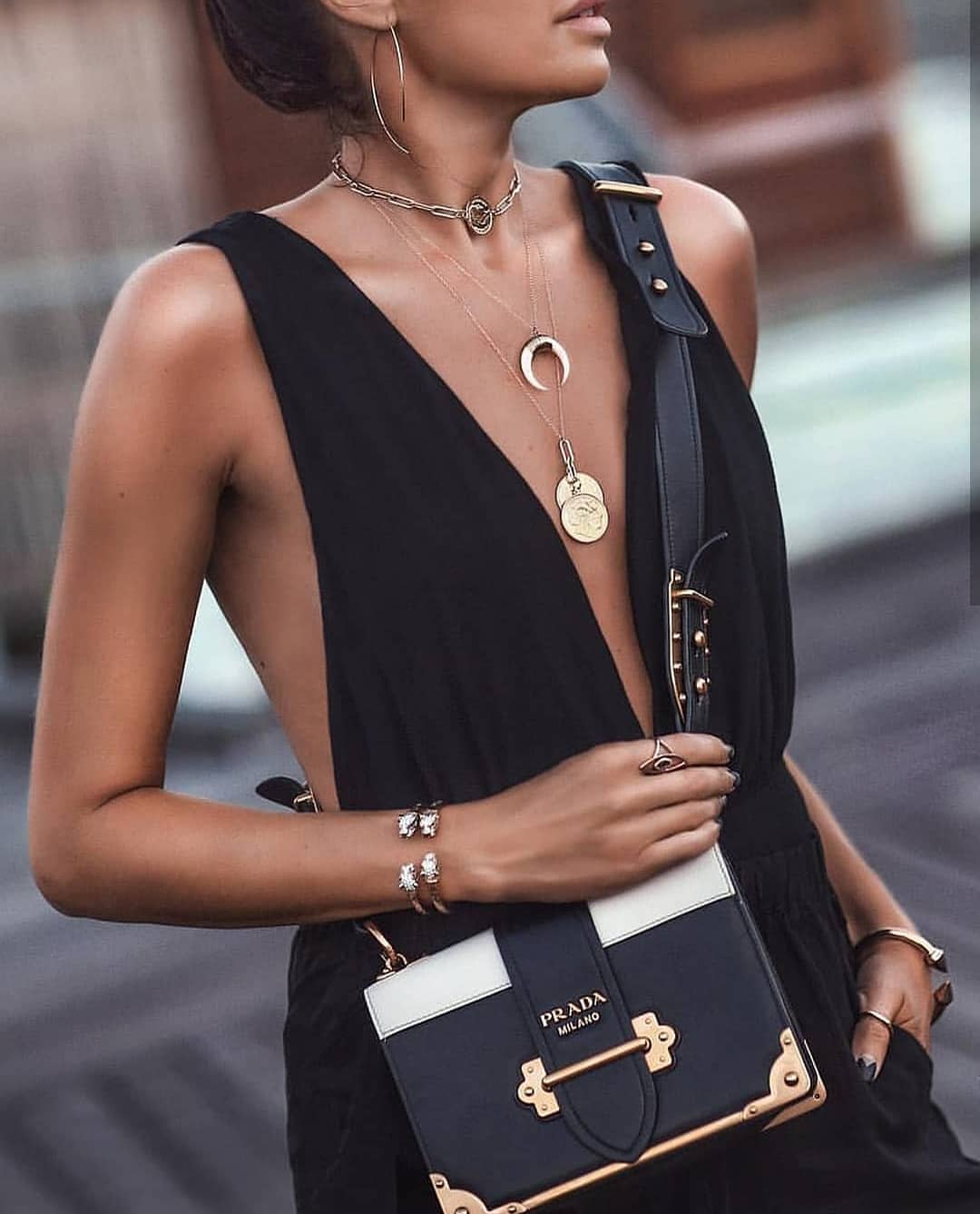 How To Style Black V-Cut Sleeveless Romper This Summer 2020
