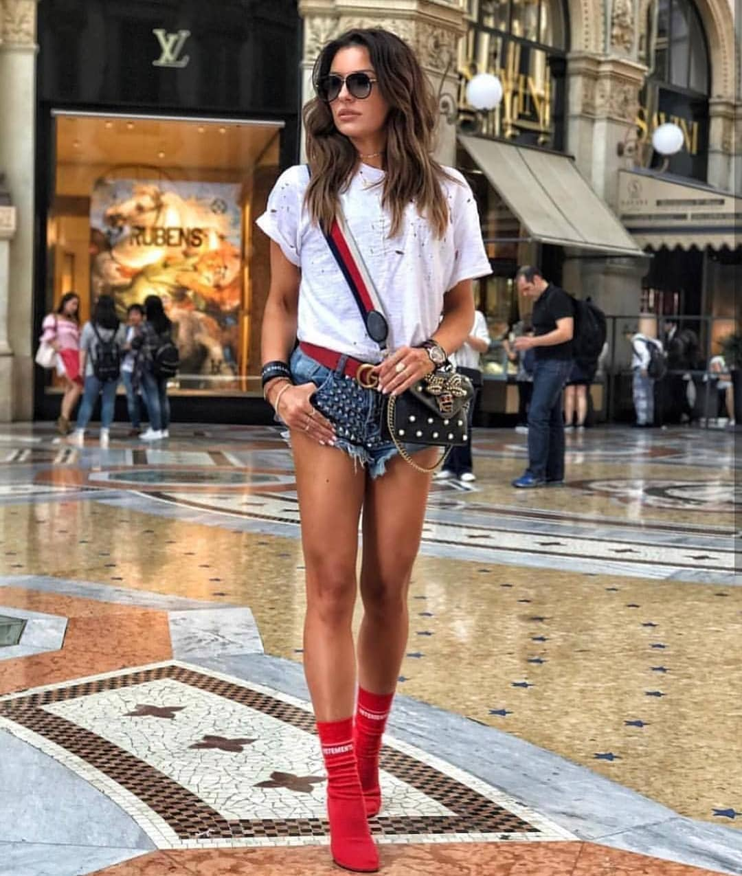 How To Wear Red Sock Booties This Summer 2020