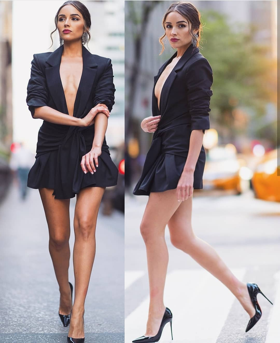 Black Blazer-Dress For Young Ladies To Try This Summer 2020