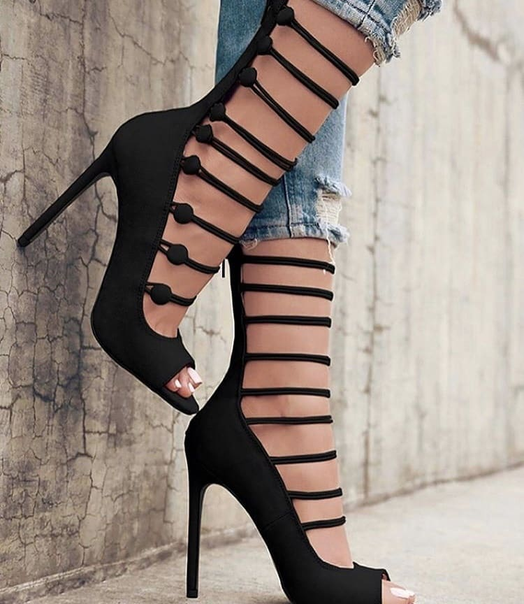 Heeled Bootie Sandals For Young Ladies To Wear This Summer 2019