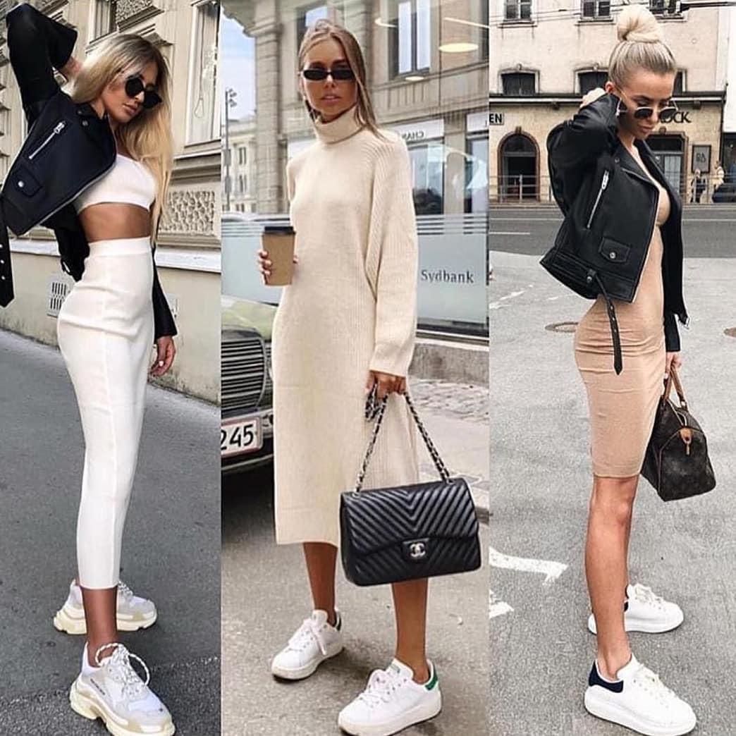 How To Style White Sneakers This Spring 2020