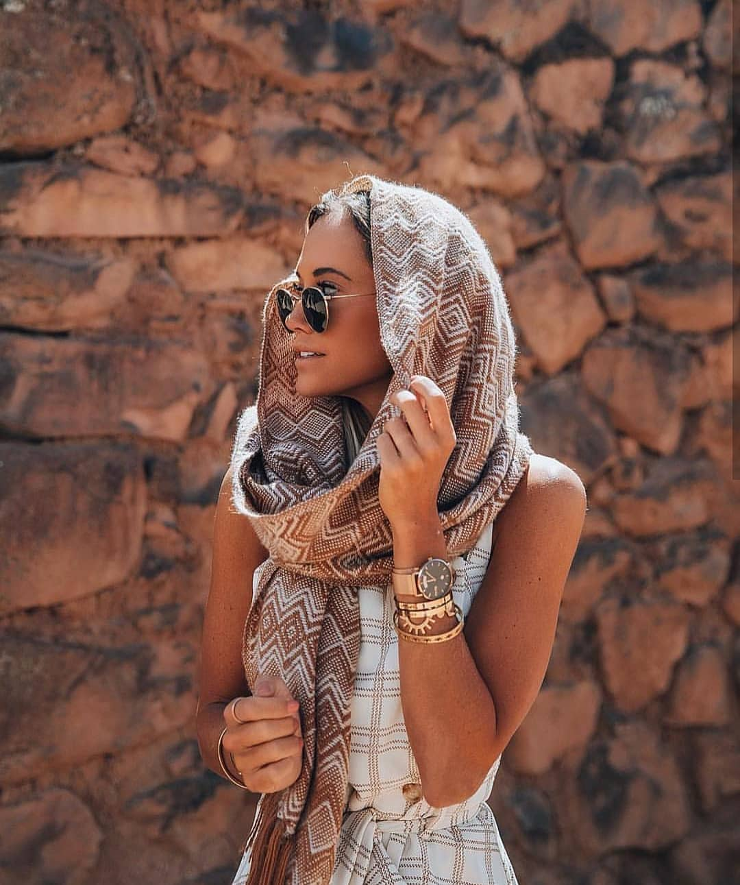 Casual Style Head Scarf For Summer 2019