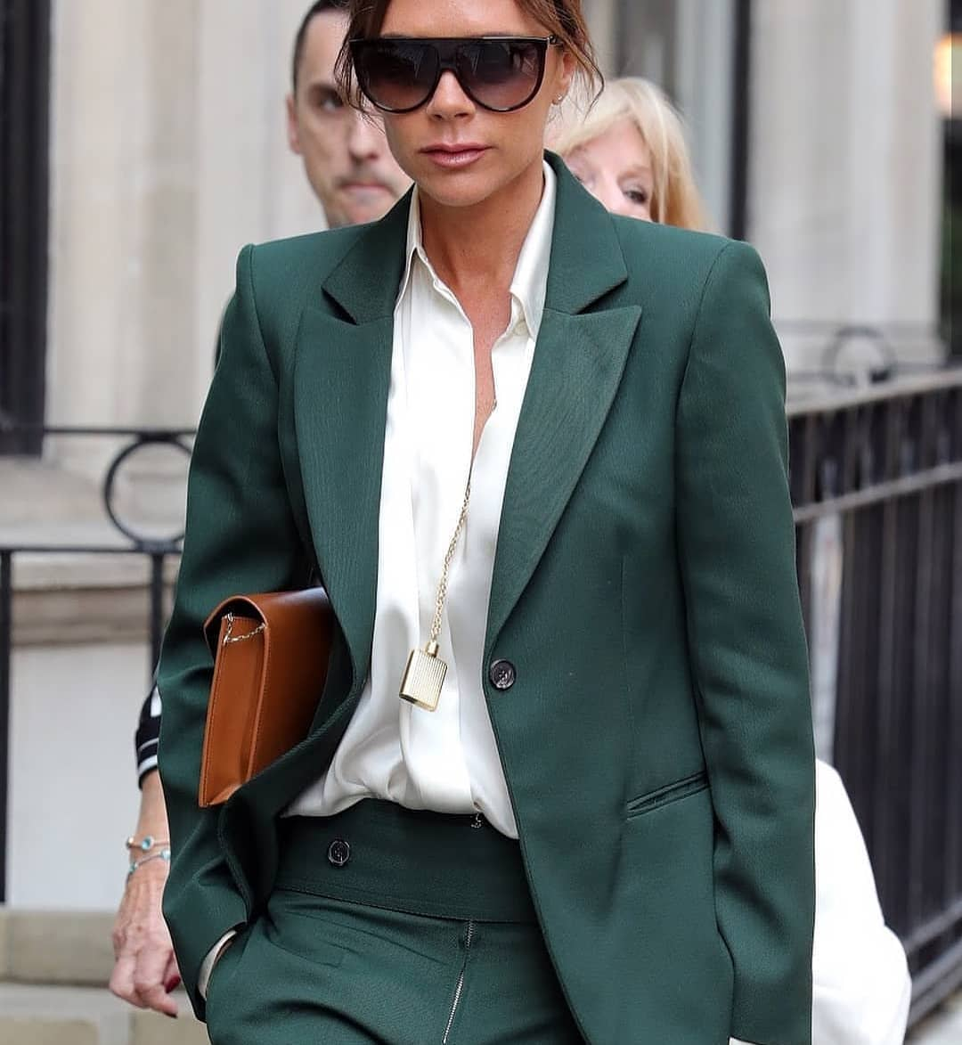 Green Pantsuit For Summer Dressy Events 2020