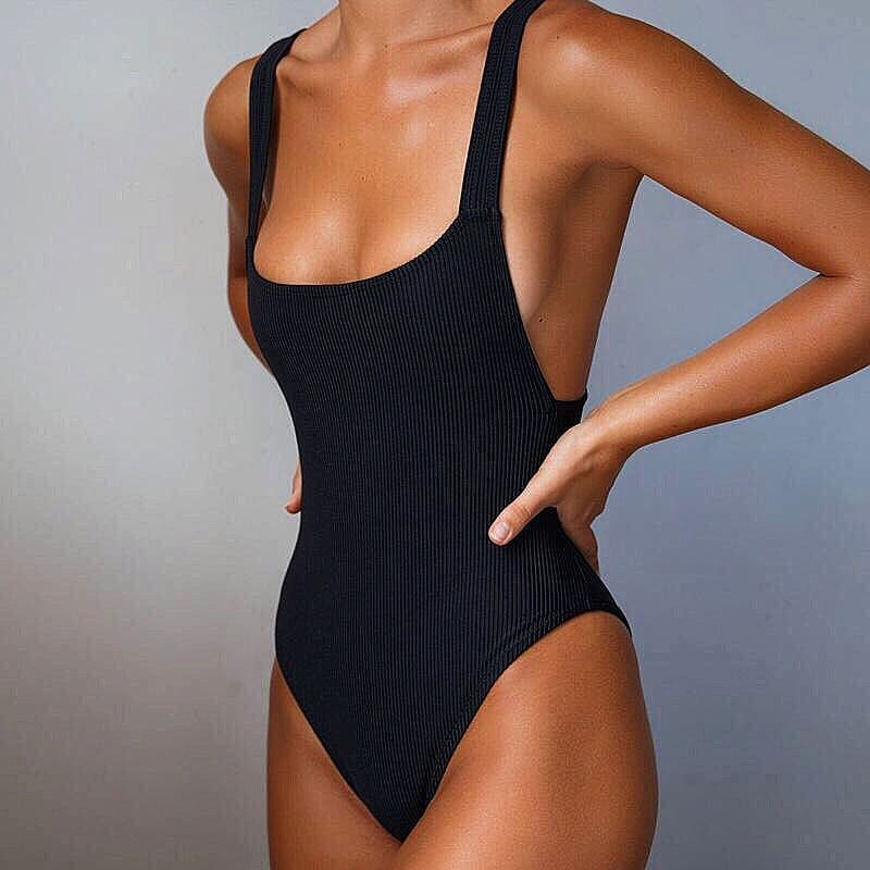 Perfect Swimsuit In Black For Summer: From Beach To The Streets 2020