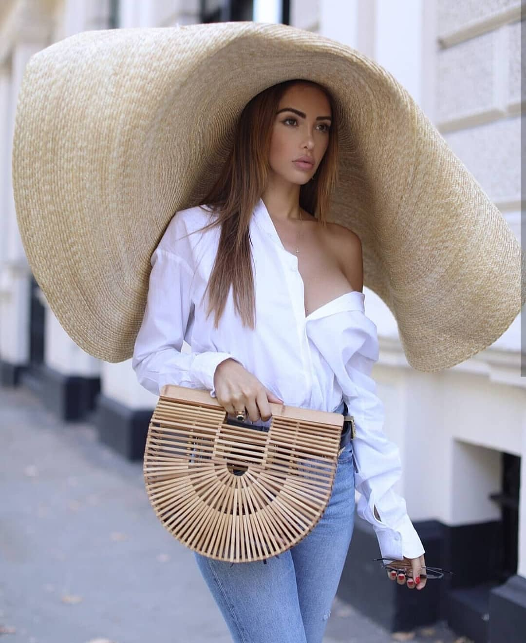 b3bb5f3c2ee Extra Large Straw Sunhat For Summer 2019 ⋆ FashionTrendWalk.com