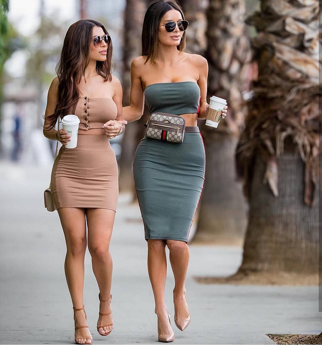 Two-Piece Bodycon Dresses For Summer Parties 2019