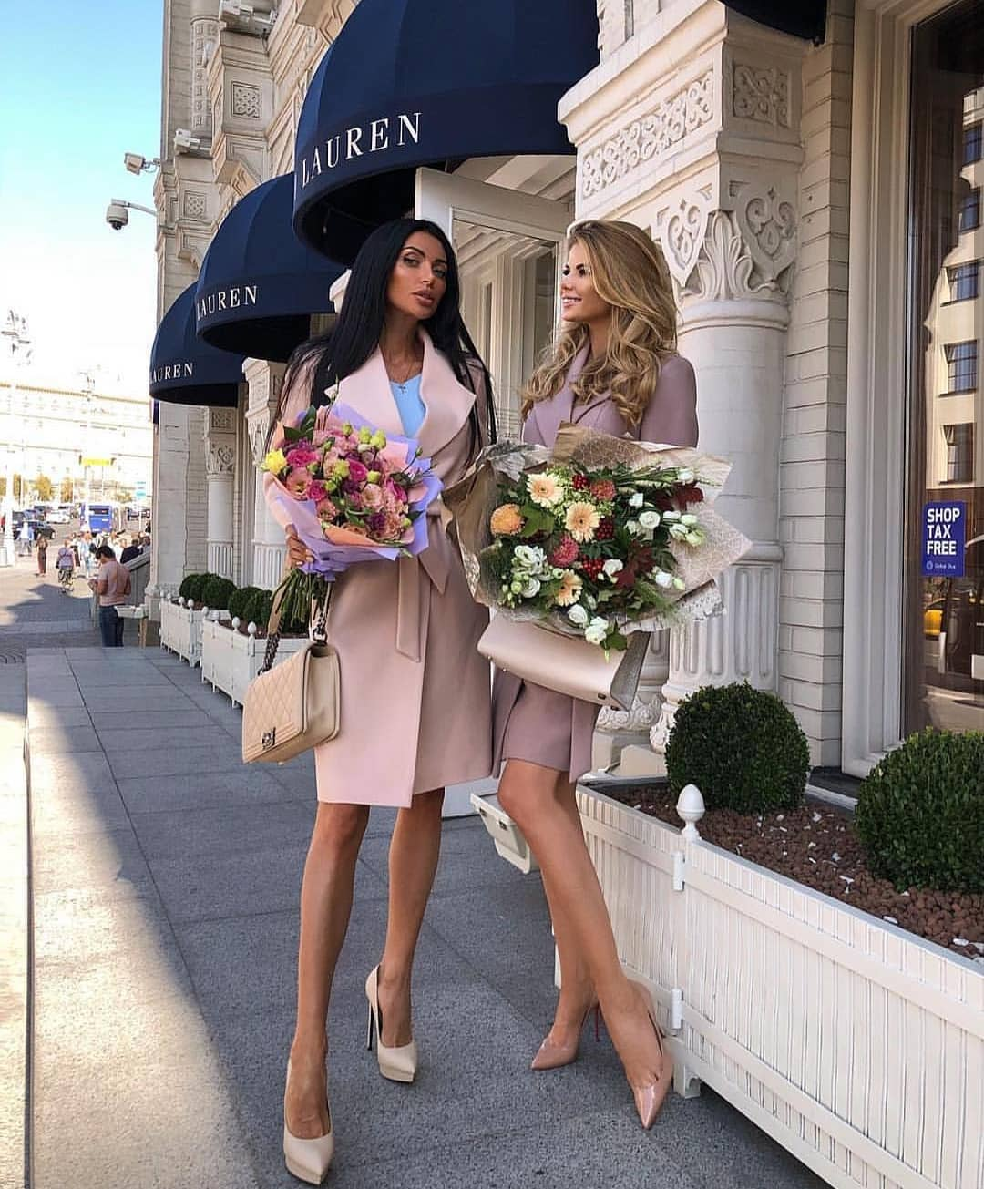 Blush Trench Coat And Nude Heels For Spring Days 2019