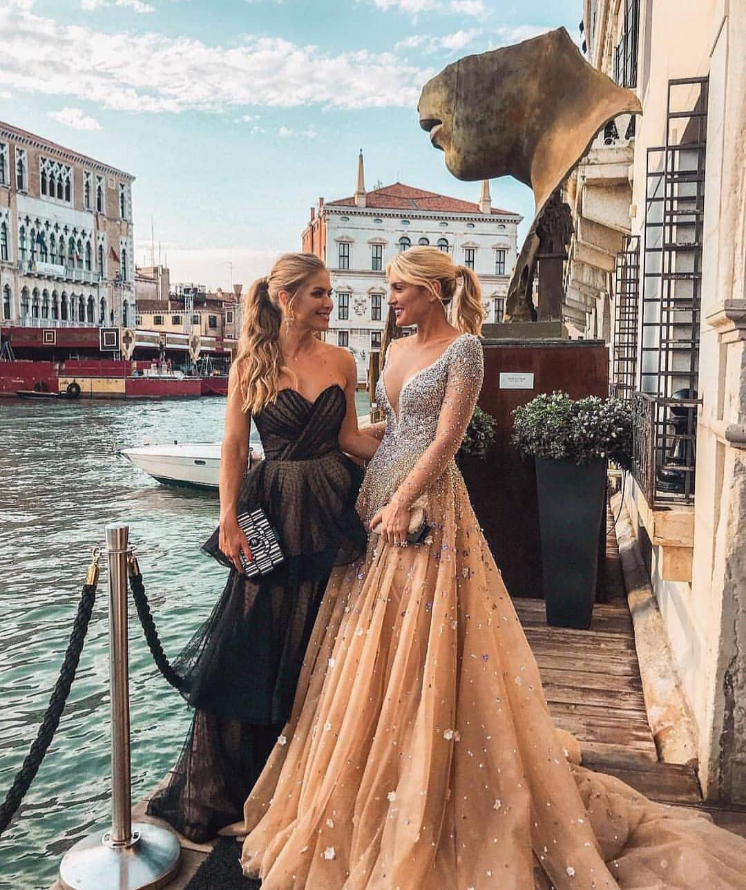Maxi Gowns For Special Summer Events In Venice, Italy 2019
