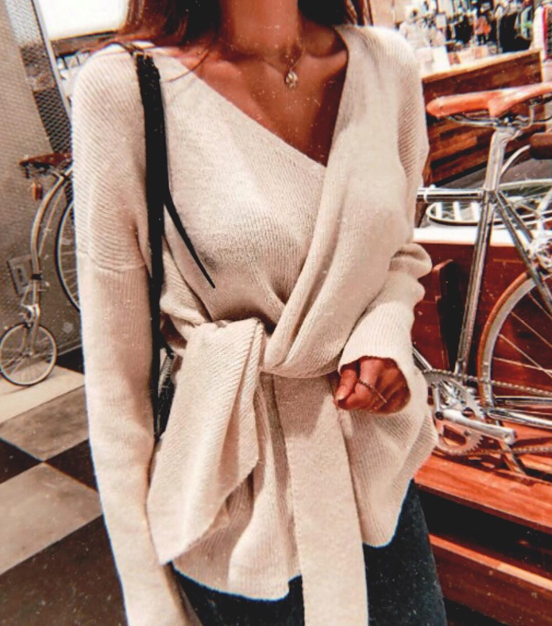 Wrap Belted Sweater For Fall: How To Style And Wear 2020