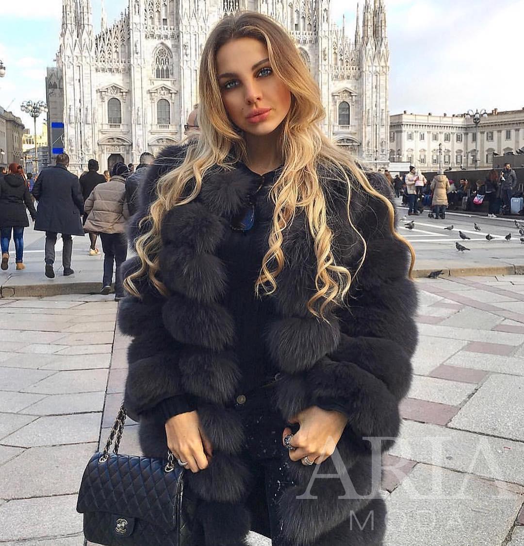 Fur Coat For Autumn In Milan 2019